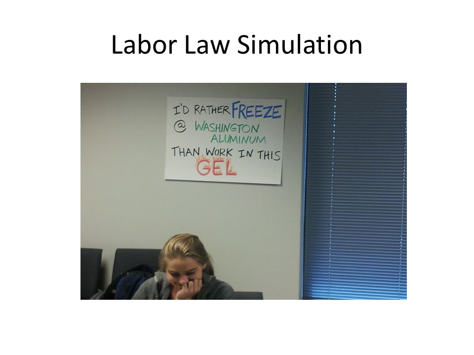 Labor Law Simulation