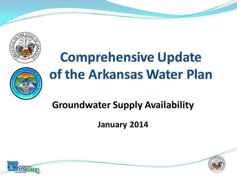 Groundwater Supply Availability January 2014