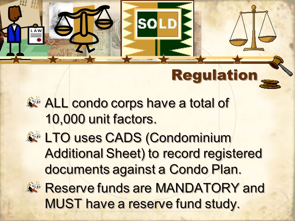 Regulation ALL condo corps have a total of 10,000 unit factors.
