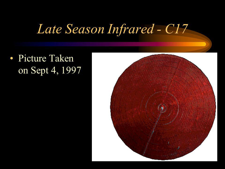 Late Season Infrared - C17 Picture Taken on Sept 4, 1997