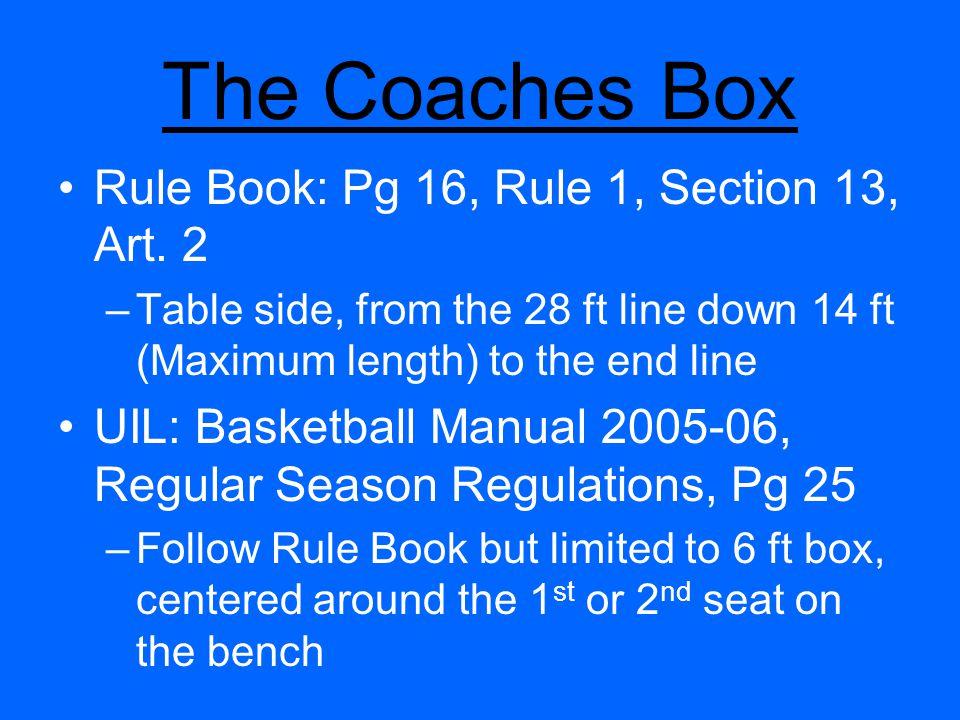 Coaches Team Control Season Coaches What Do Coaches Want