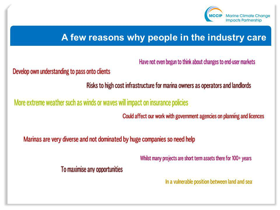 A few reasons why people in the industry care