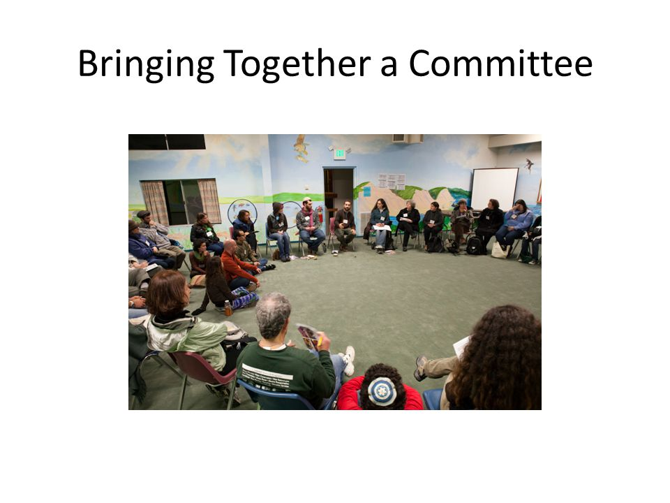 Bringing Together a Committee