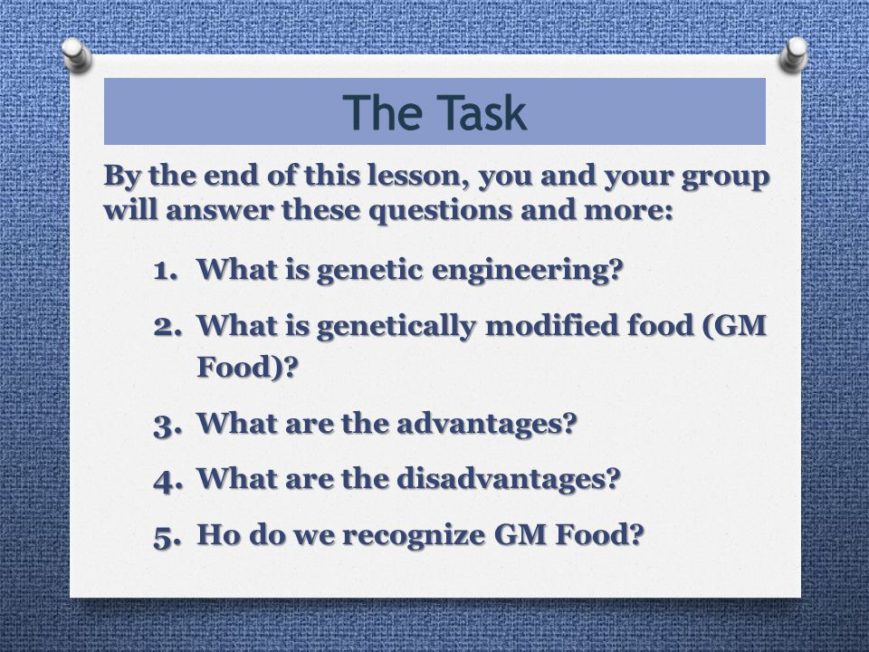 By the end of this lesson, you and your group will answer these questions and more: 1.