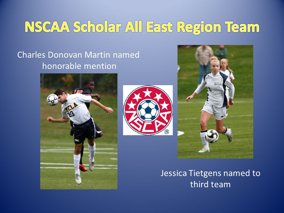 Jessica Tietgens named to third team Charles Donovan Martin named honorable mention
