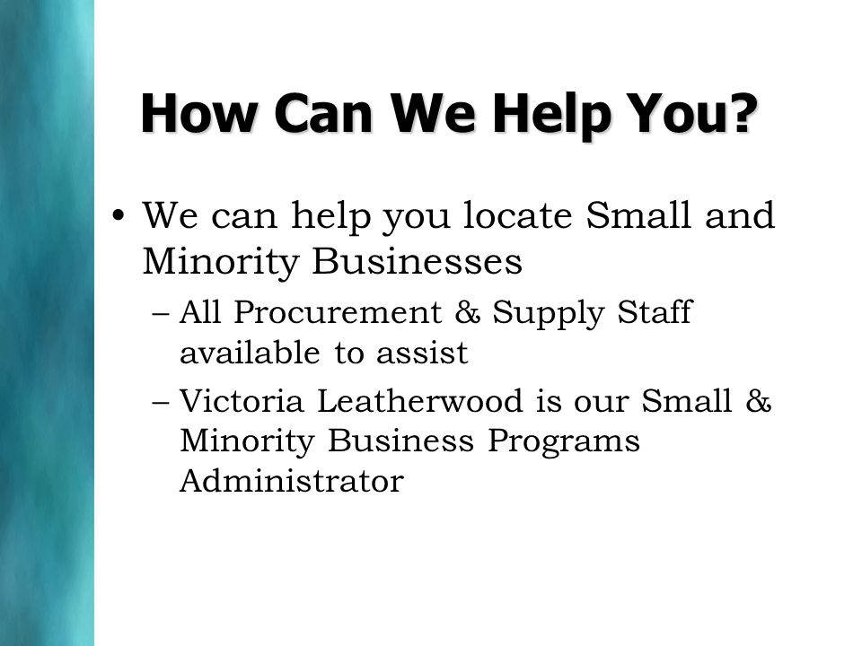 How Can We Help You.