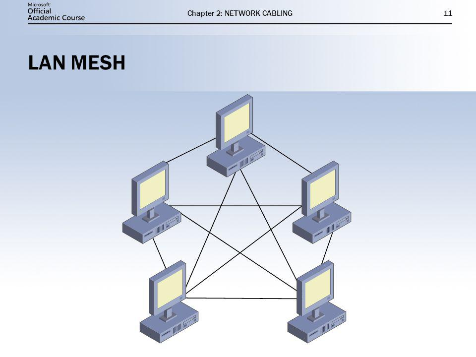 Chapter 2: NETWORK CABLING11 LAN MESH