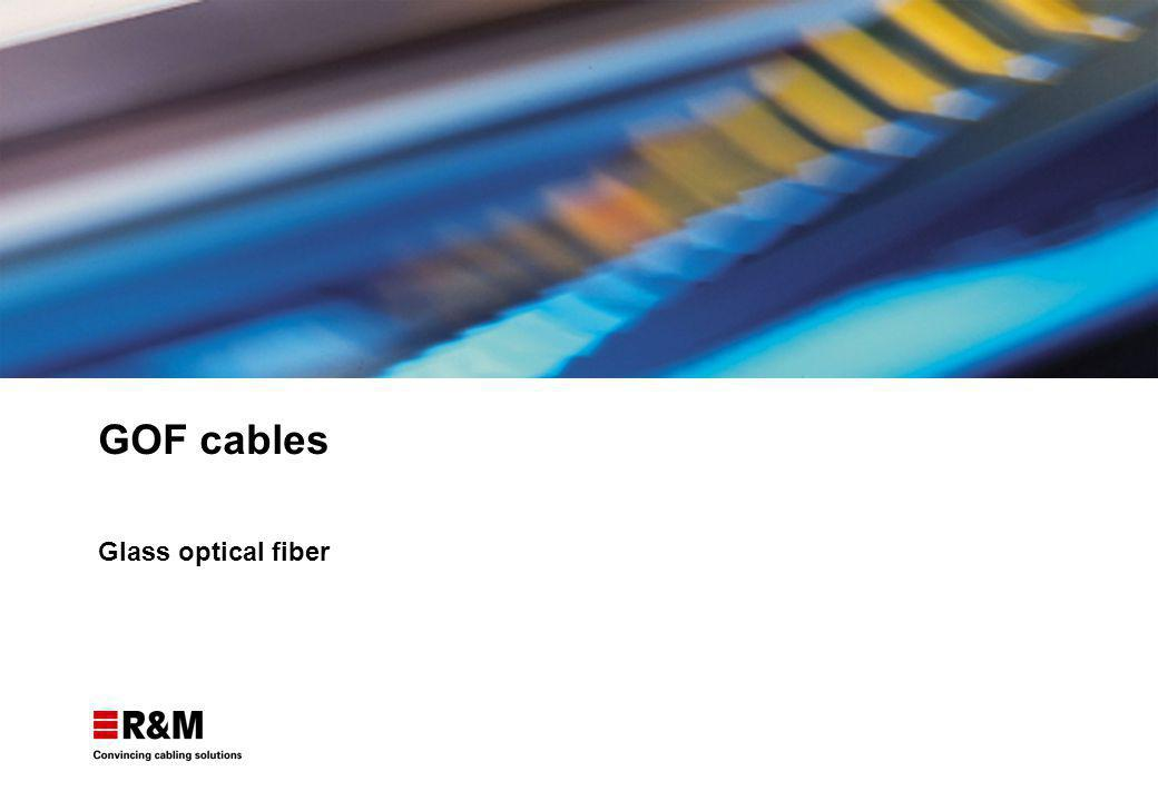 GOF cables Glass optical fiber