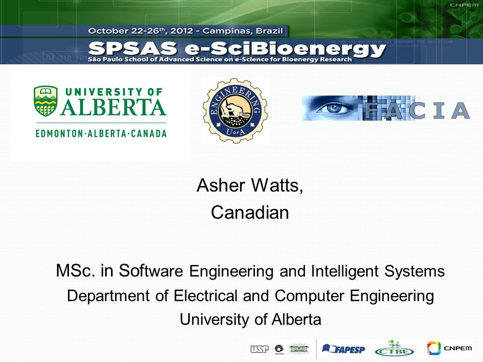 Asher Watts, Canadian MSc.