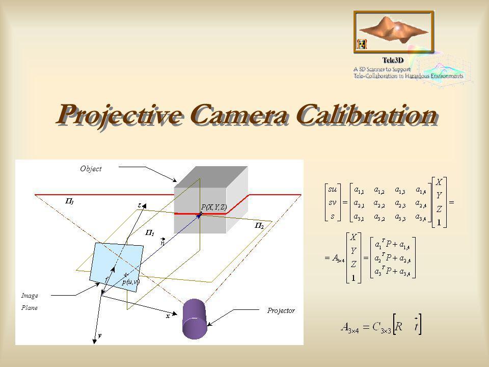 Instituto de Sistemas e Robótica TELE-3D Calibrator Camera