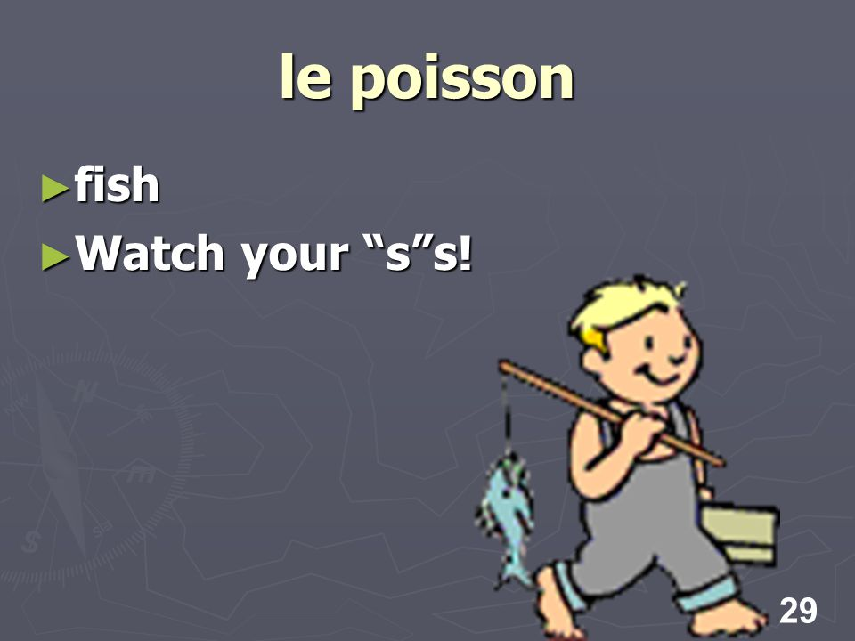 29 le poisson fish fish Watch your ss! Watch your ss!