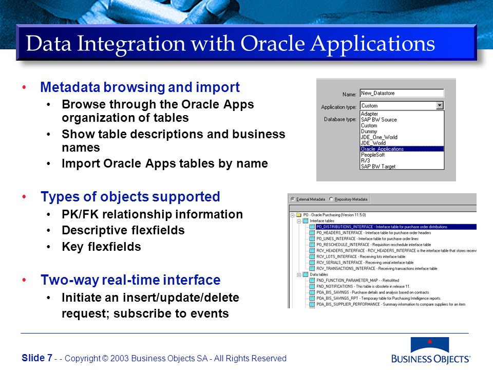 Jason Kuo OracleWorld Business Objects and Oracle9i OLAP  - ppt download