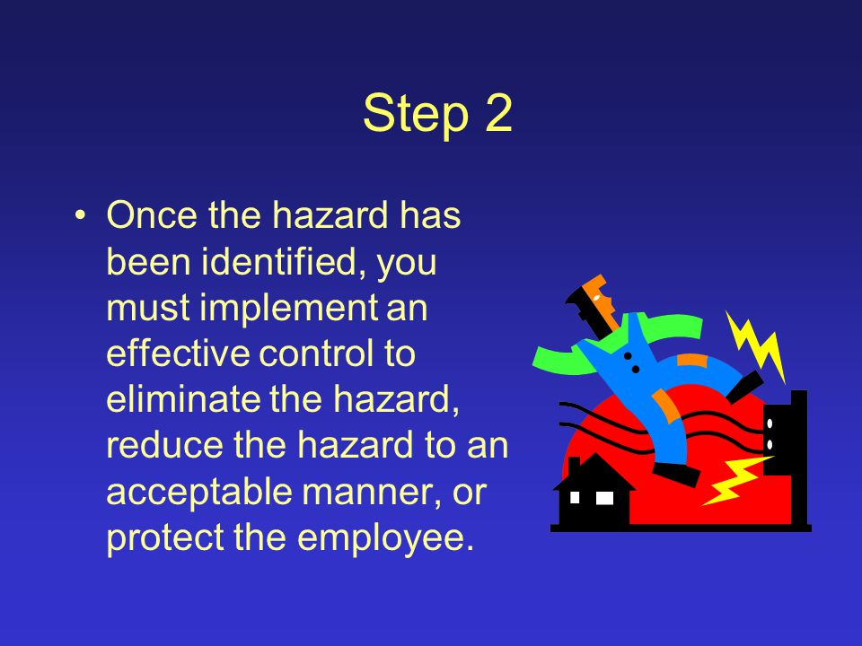 Fire/Explosion Hazards –Is there the potential for a fire or explosion