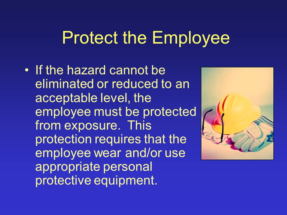 Training Can employees be trained to recognize hazards and employ safe work practices