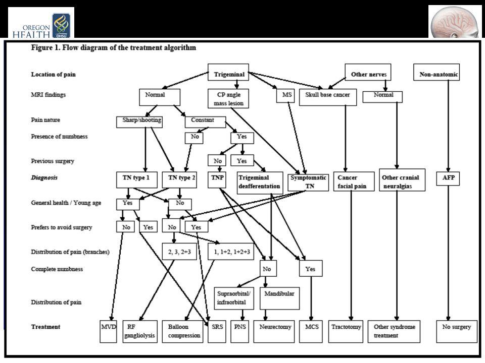 Facial diagram of diagnosis