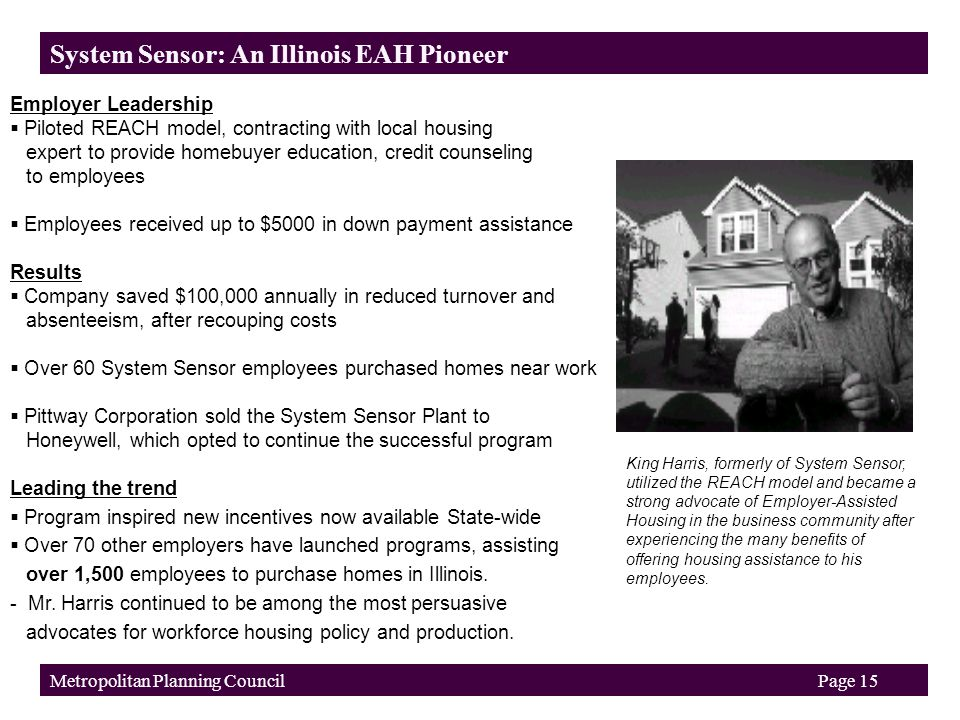 """Employer-Assisted Housing: A Proven Strategy for """"Housing a"""