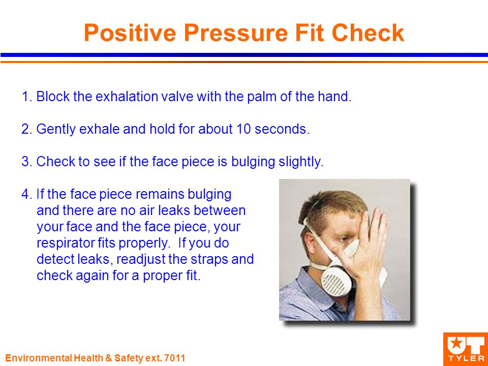 Environmental Health & Safety ext Positive Pressure Fit Check 1.