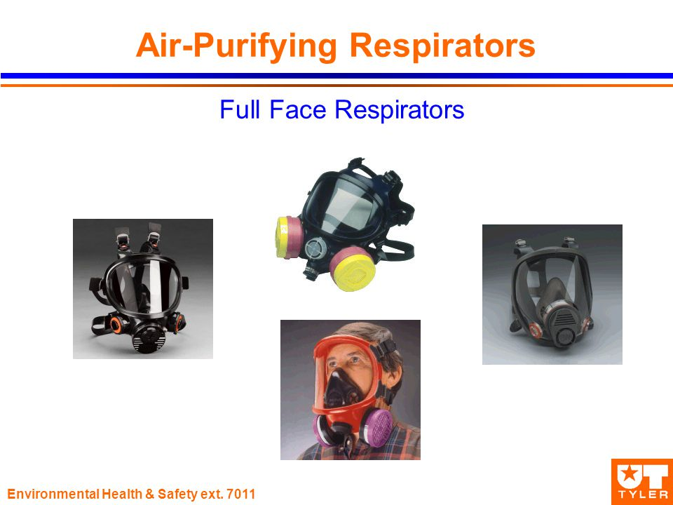 Environmental Health & Safety ext Air-Purifying Respirators Full Face Respirators