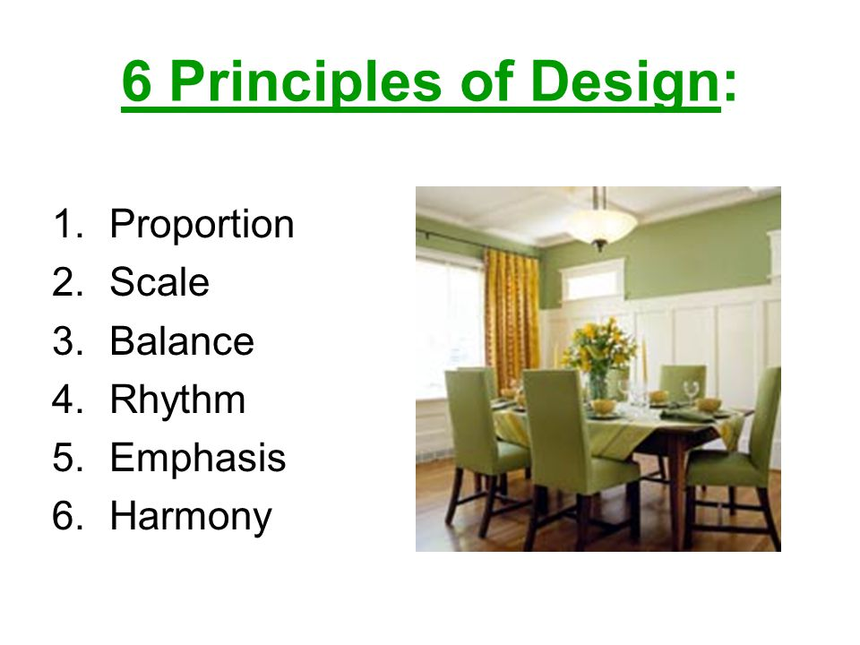 Begin On Page 274 And Outline These Terms Remember To Leave Extra Space Between Each One 1 Proportion 2 Scale 3 Balance 4 Rhythm 5 Emphasis 6 Harmony Ppt Download