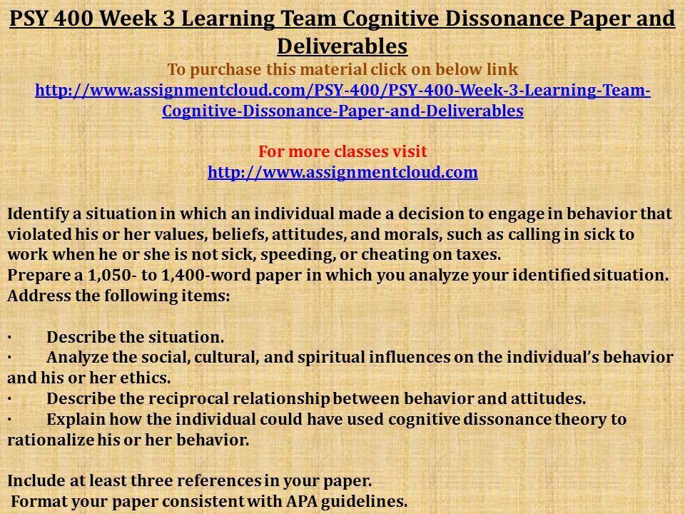 reciprocal relationship between behavior and attitudes