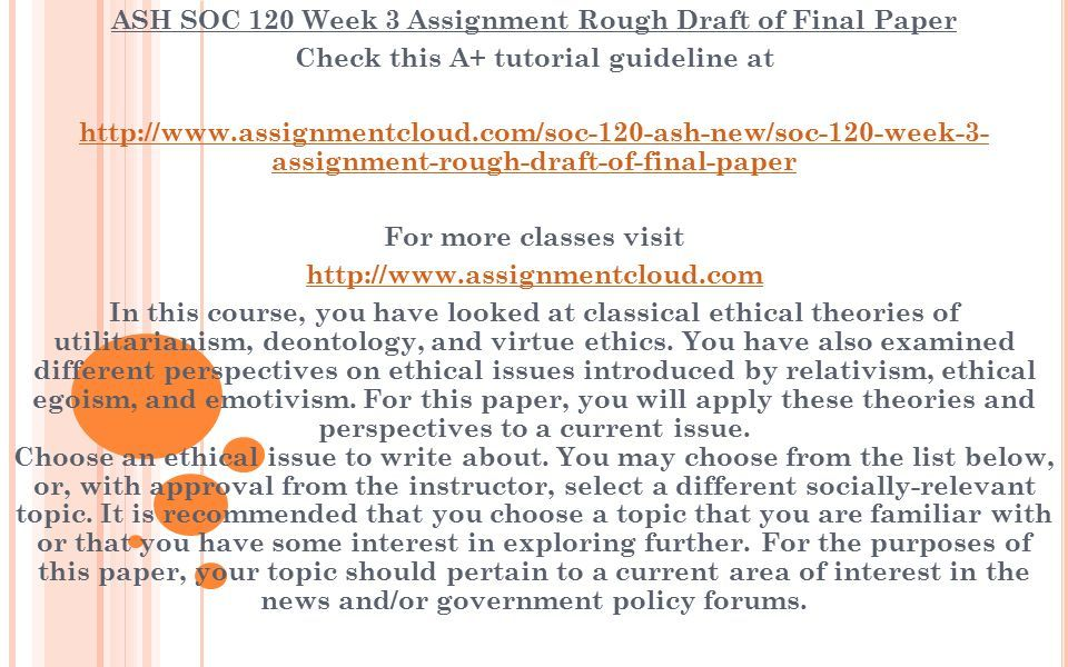 ethical issues to write about