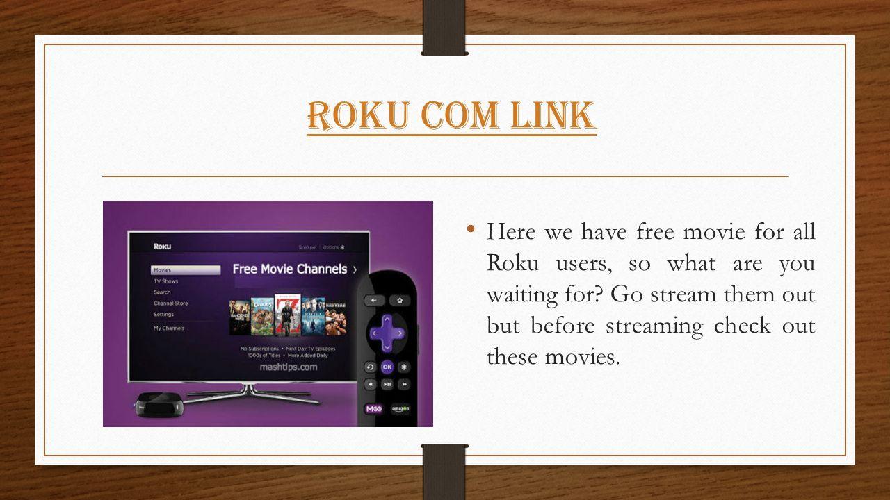 free movie sites for roku