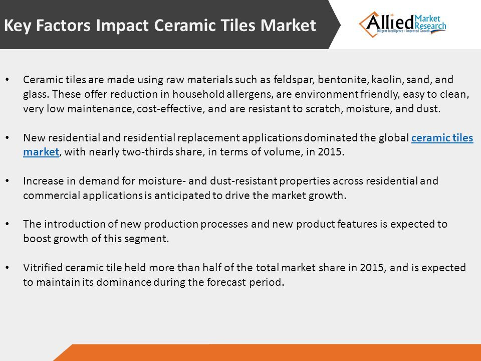 Ceramic Tiles Market Opportunities And Forecasts Ppt Download