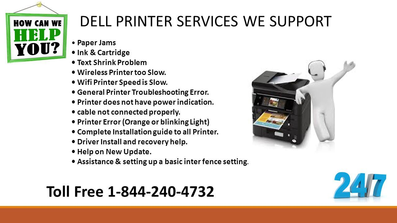 Call Dell Printer Support Number  Toll Free DELL PRINTER