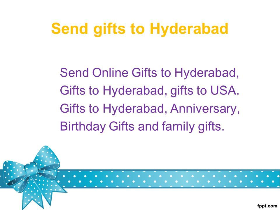 Send Gifts To Hyderabad Online