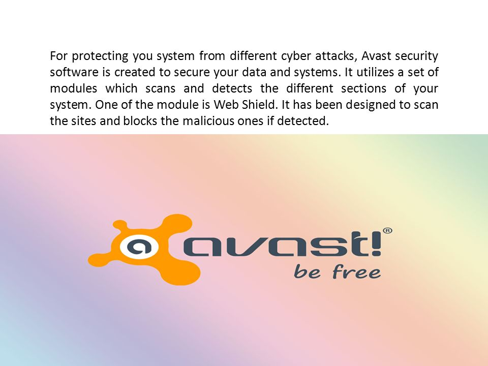 Unblock Websites on Avast For protecting you system from different