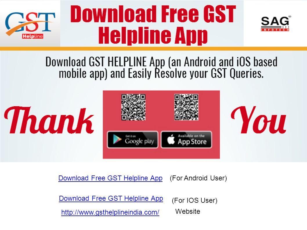 GST Helpline - A Complete GST App TO RESOLVE GST INDIA QUERIES - ppt