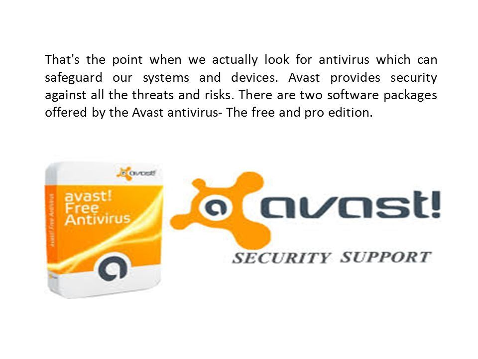 Which is better Avast Free Edition or Avast Pro Version
