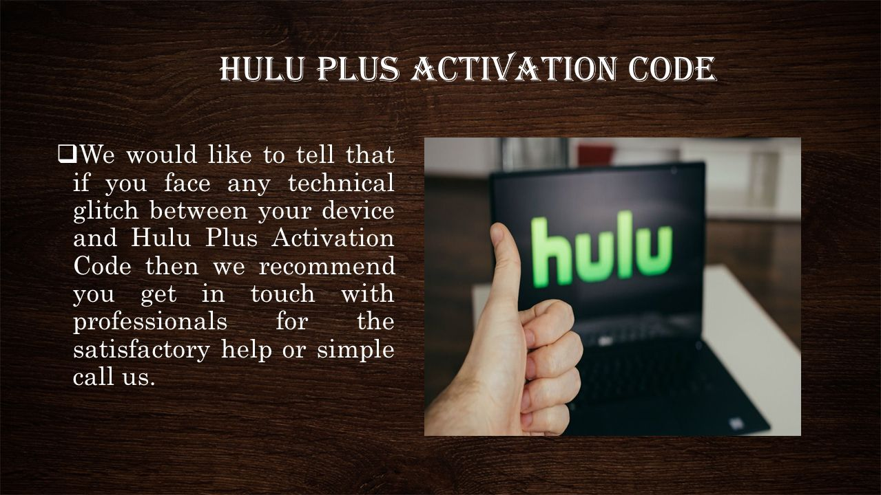 HULU Com Activate Toll Free ( ) For More Details Visit Our Website