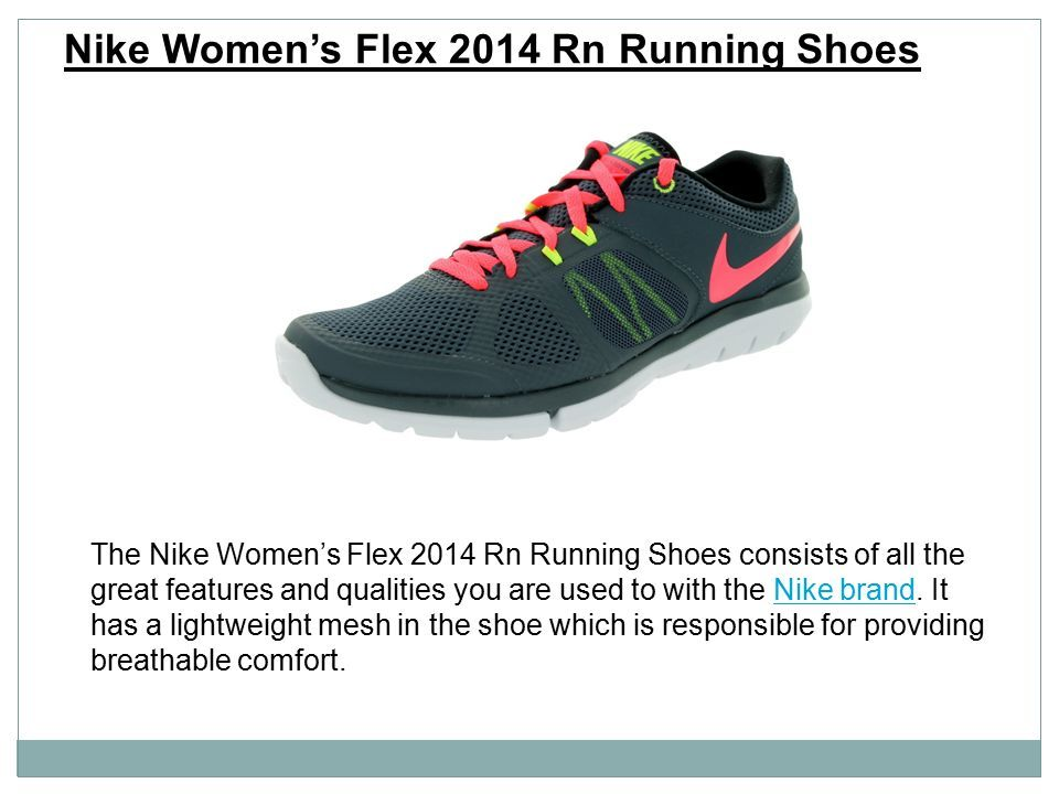 The Nike Women s Flex 2014 Rn Running Shoes consists of all the great  features and qualities 7f9cd5387f