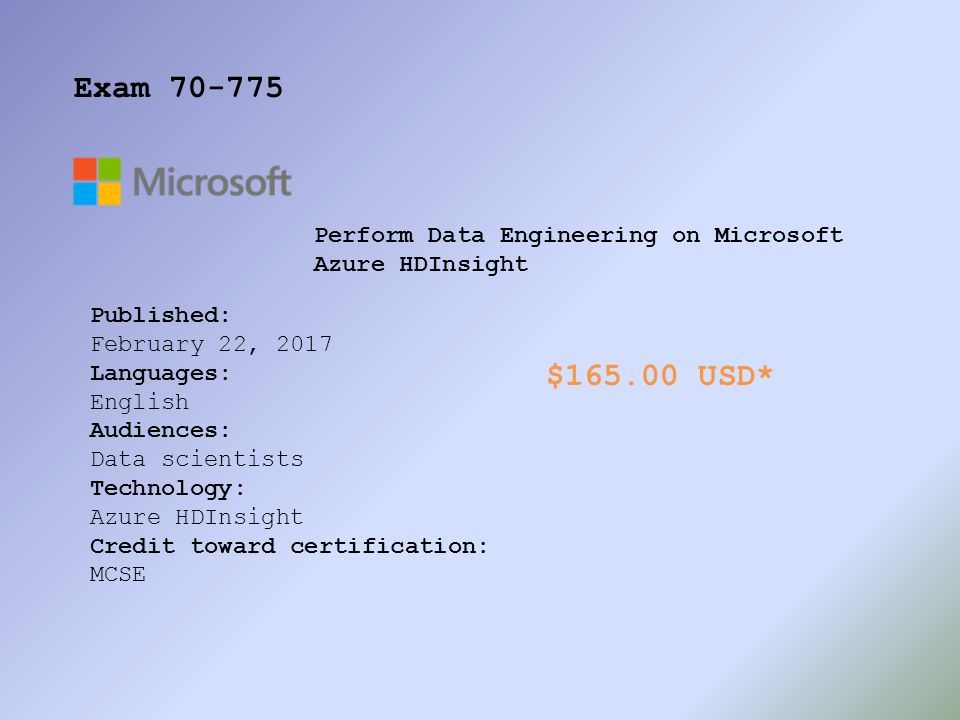 Microsoft Certification Pdf
