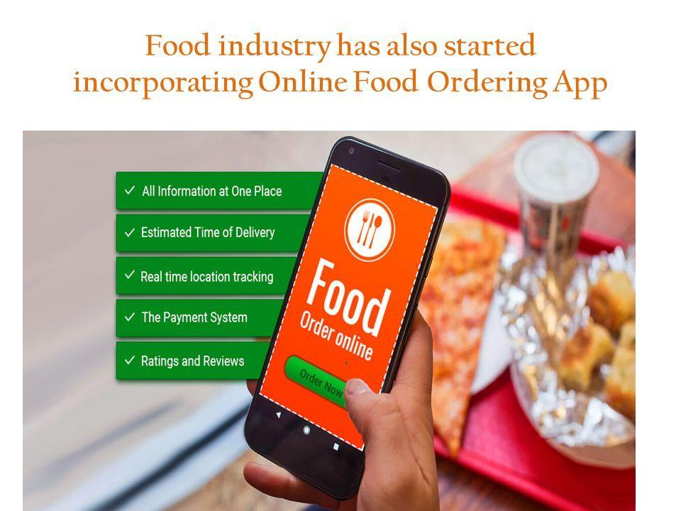Incorporate Online Food Ordering App in Your Restaurant