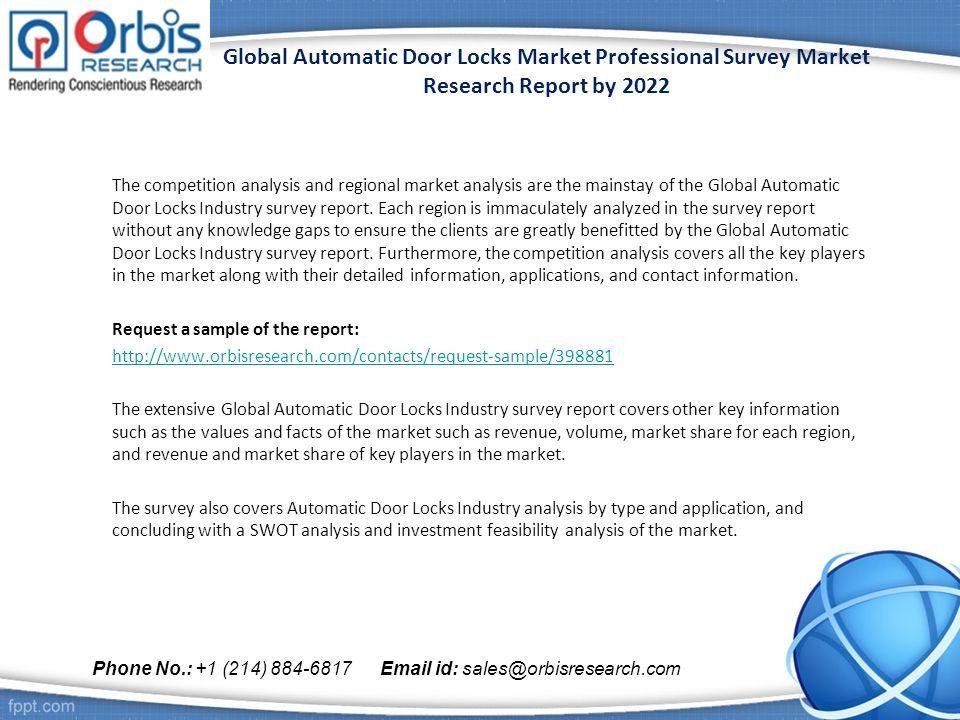 global automatic door locks market professional survey market