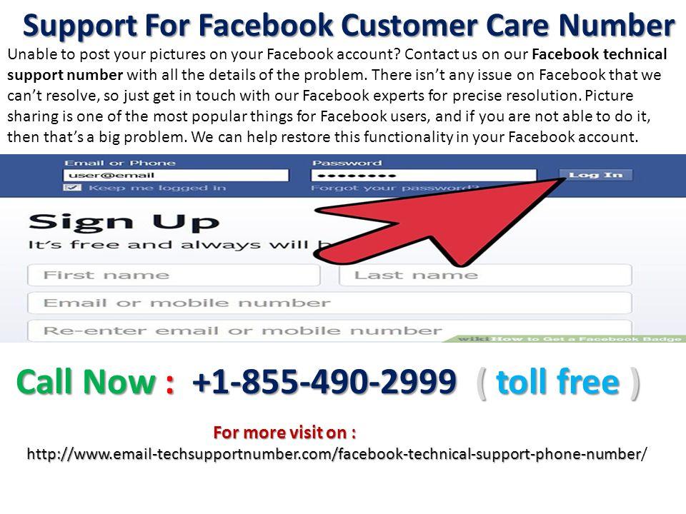 WEL-COME Facebook Customer Care Number Facebook Customer
