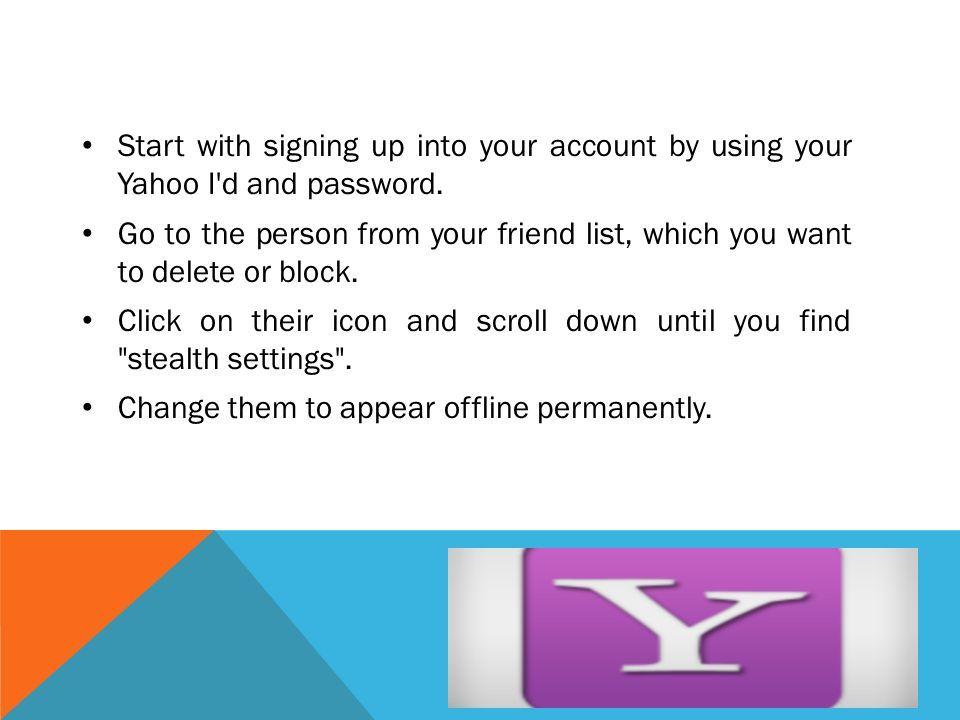 Messenger sign in y Yahoo Messenger