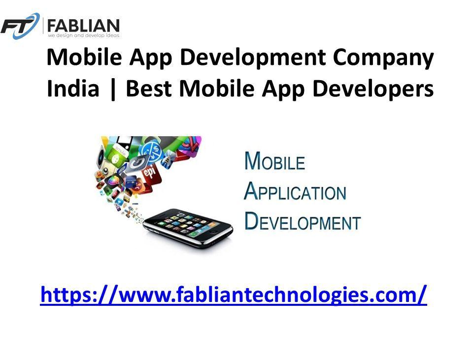 Mobile App Development Company India   Best Mobile App Developers ...
