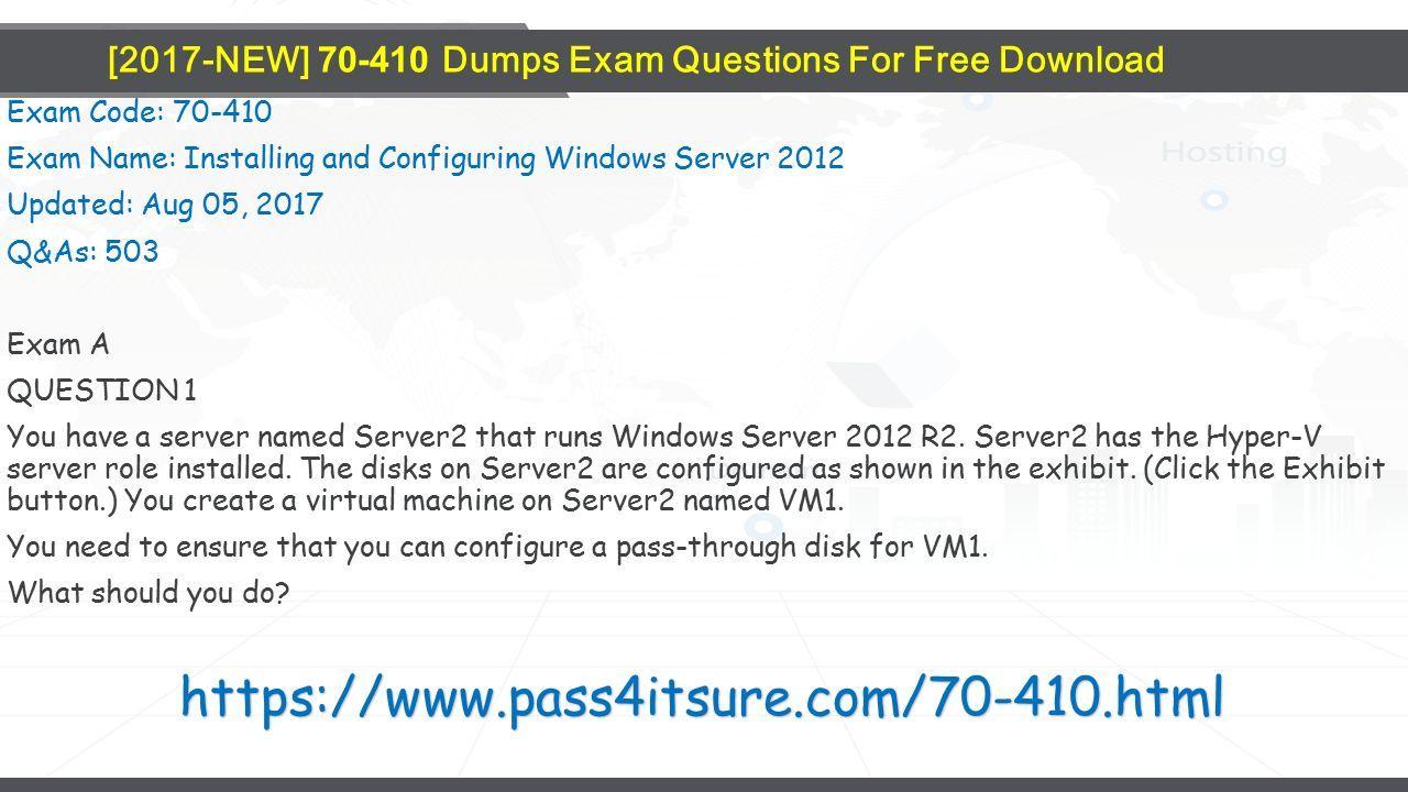 Pass4itsure Microsoft Dumps Ppt Download