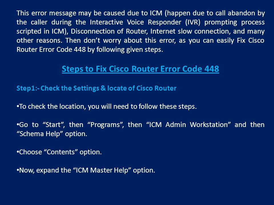 Cisco Error Message Lookup