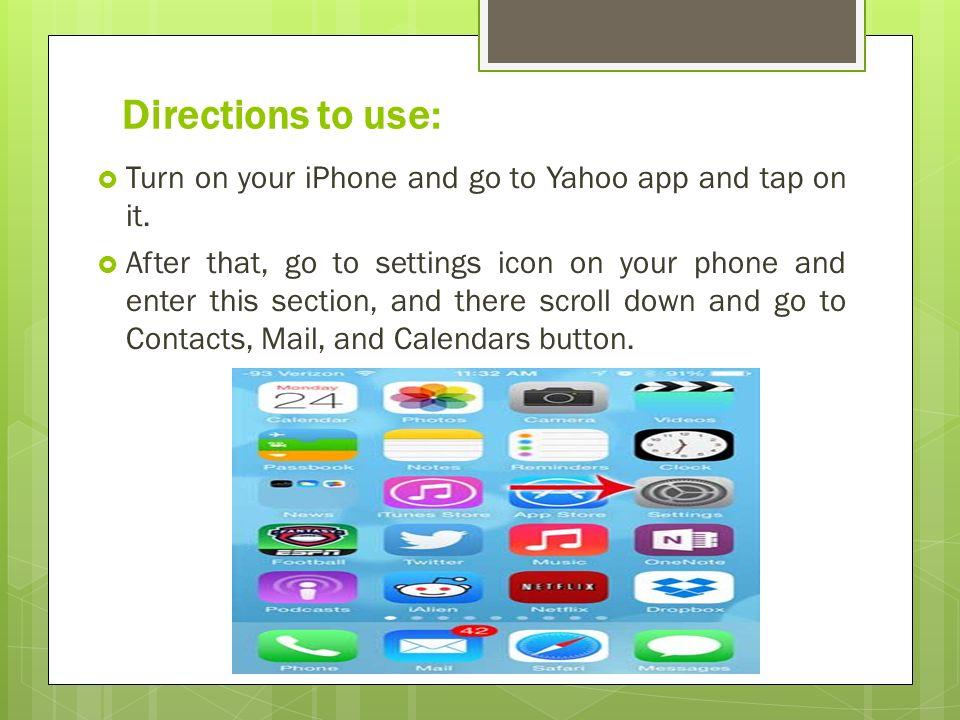 How one can Remove Yahoo Mail Account from iPhone? - ppt download