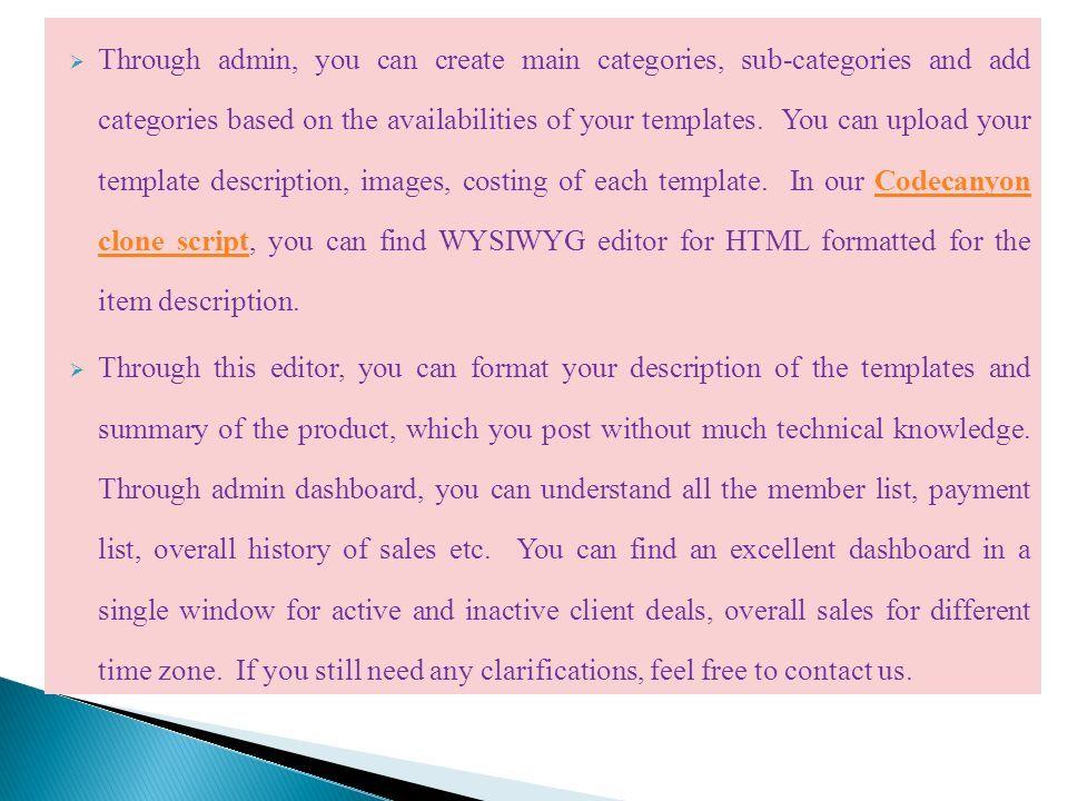 CodeCanyon Clone Script, Themeforest Clone Script, Envato Clone