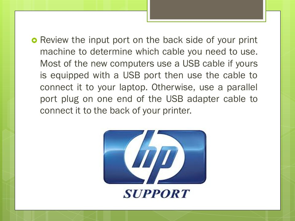 What are the Ways to Connect an HP Printer to a Laptop