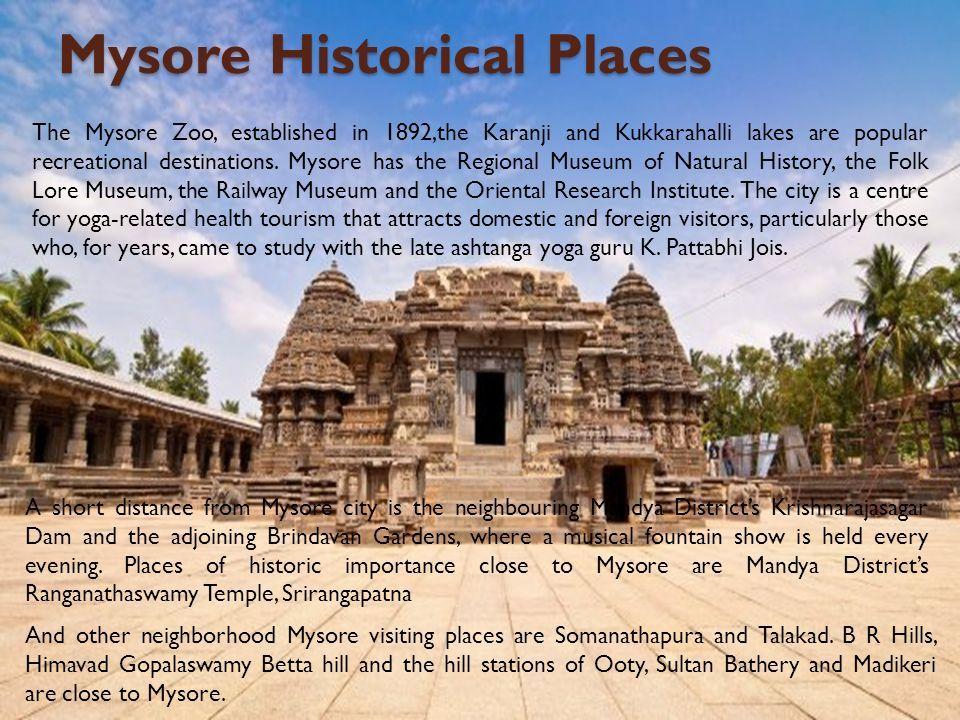 Reliable Mysore Tour Travel Guide