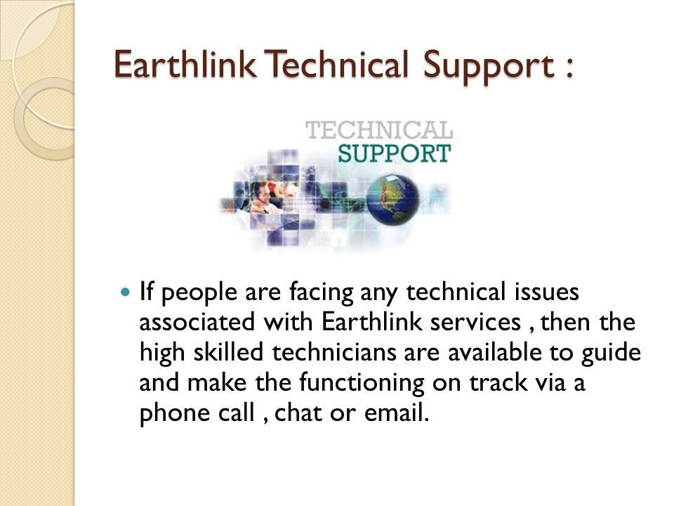 Earthlink Customer Service Earthlink Earthlink Earthlink Is A Provider Of Itservices Network And Communications Earthlink Services Serves Around Ppt Download