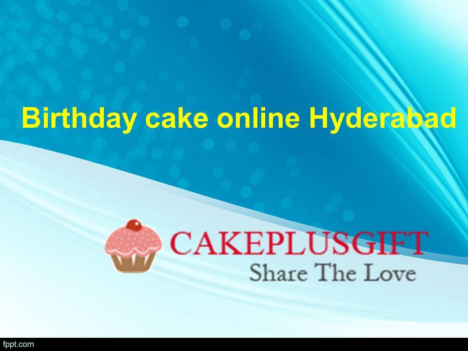 1 Birthday Cake Online Hyderabad