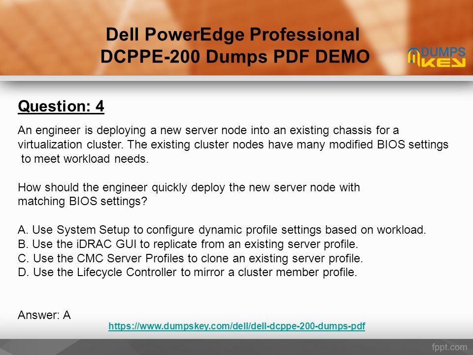 DCPPE-200 Dumps - 100% Success Guaranteed - ppt download