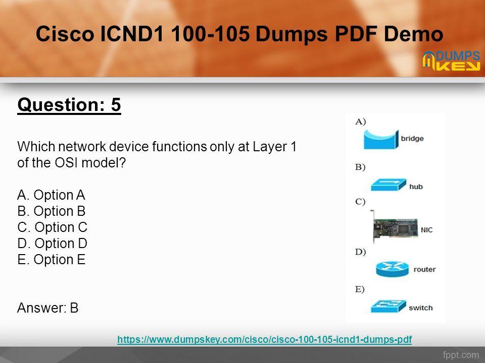 Dumps pdf icnd1
